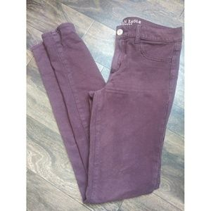 American eagle outfitters stretch jeggings 6 xl